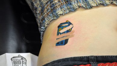 Dermacol foundation fully covers tattoo make-up