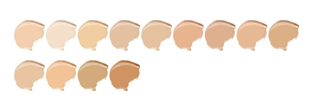 Dermacol shades available tones color foundation cover make-up