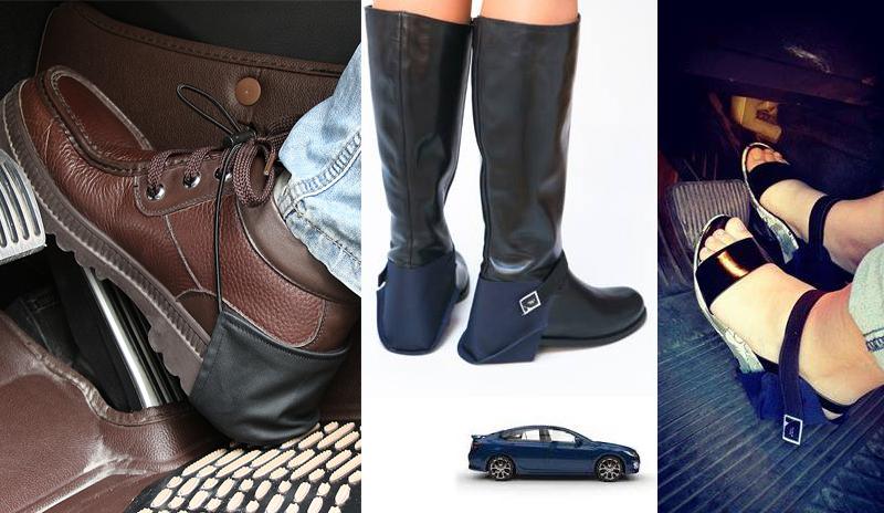 shoe heel protection driving shield shoecoat